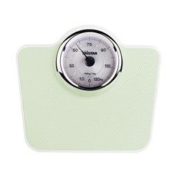 Tristar WG-2428 báscula de baño Báscula de baño analógica Trapecio Verde, Blanco