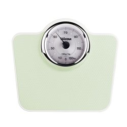 Tristar WG-2428 personal scale Mechanical personal scale Trapezium Green,White