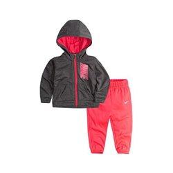 Tuta da Bambini Nike 408S-A4F Rosa Grigio Taglia - 6-7 Anni