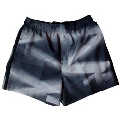 Nike Bañador Hombre Ness8526 001 Negro Gris L