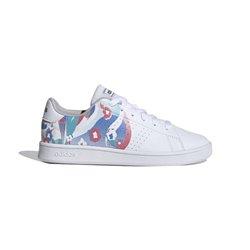 Adidas Scarpe da Tennis Casual Bambino Advantage Bianco 30