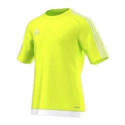Maglia Sportiva a Maniche Corte Adidas Estro 15 Giallo XL