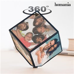 Rotating Cube Photo Frame