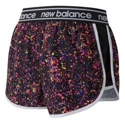 Pantaloncini Sportivi da Donna New Balance WS81146 BM Multicolore L
