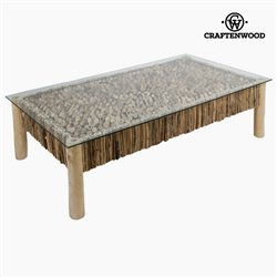 Table Basse Deco Bois mindi (160 x 90 x 45 cm) by Craftenwood