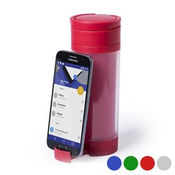 Polypropylene Drink Bottle with Mobile Support (390 ml) 145498 Blue