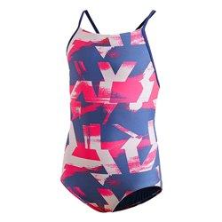 Adidas Badeanzug für Kinder Ya Aop Blau 2-3 Jahre