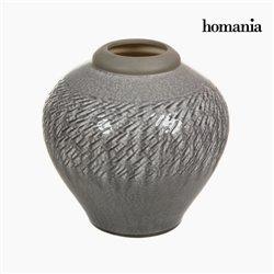 Vaso de cerâmica em cinzento claro by Homania