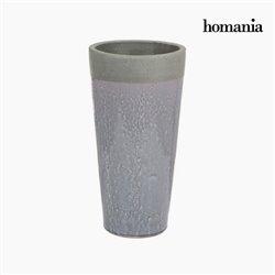 Gray ceramic vase by Homania