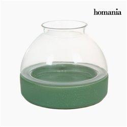 Portacandele di ceramica e vetro by Homania
