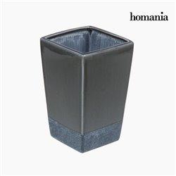Ceramic vase gray by Homania