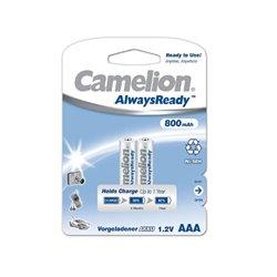 Batterie Ricaricabili Camelion BAT422 LR3 AAA 800 mAh (2 uds)