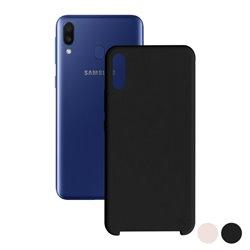 Protection pour téléphone portable Samsung Galaxy M10 Soft Rose
