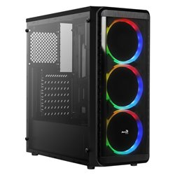Aerocool Cassa Semitorre ATX SI5200RGB RGB USB 3.0 Nero