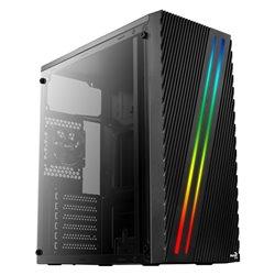 Aerocool Cassa Semitorre ATX STREAK RGB USB 3.0 Nero