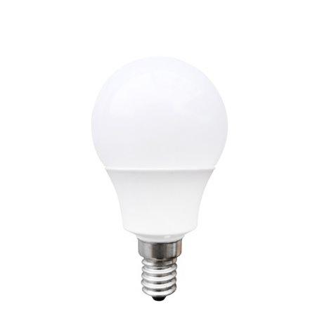 Lâmpada LED esférica Omega E14 4W 320 lm 2800 K Luz Quente