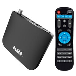 Riproduttore TV Android BSL ABSL-216DVBTS 8 GB WiFi Nero