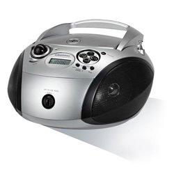 Grundig Radio/CD mp3 RCD 1445 USB 2.0 Silberfarben