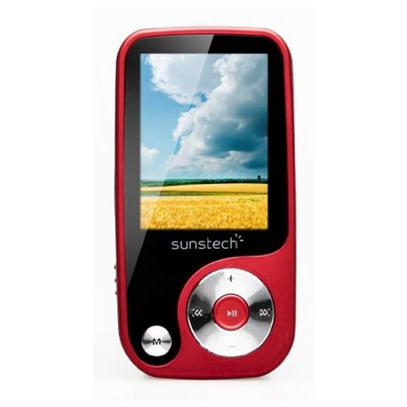 MP4 Sunstech Thorn 4 GB Rosso