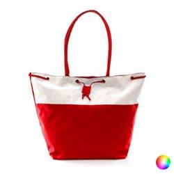 Borsa da Mare Bicolor 149973 Rosso