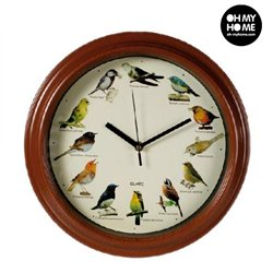 Bird Melody Wall Clock