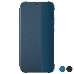 Custodia Libro Huawei P Smart Z Flip Cover Azzurro