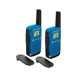 Walkie-Talkie Motorola (2 Pcs) Azzurro