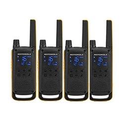 Walkie-Talkie Motorola T82 Extreme (4 Pcs) Nero Giallo