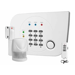 Smartwares HA700+ sistema de alarme de segurança Cinzento, Branco