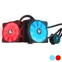 Ventilatore Nfortec Hydrus V2 (Ø 12 cm) Rosso