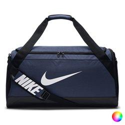Borsa da Palestra Nike BRSLA S DUFF Blu Marino