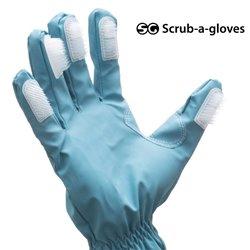 Gants de Nettoyage avec Brosse Scrub-a-Gloves (pack de 2)