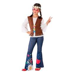 Costume per Bambini 111005 Hippie 10-12 Anni