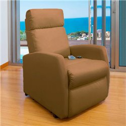 Poltrona Relax Massaggiante Cecotec Compact Camel 6019