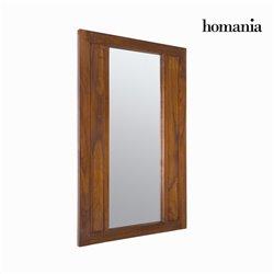 Specchio Legno di mindi (110 x 70 cm) - Chocolate Collezione by Homania