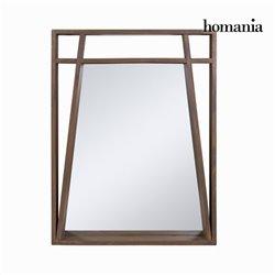 Specchio Legno di mindi (90 x 70 x 8 cm) - Ellegance Collezione by Homania