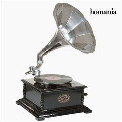 grammofono Pătrat Nero Argento - Old Style Collezione by Homania