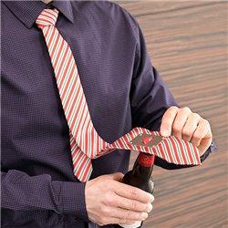 Cravatta con Apribottiglie in Metallo