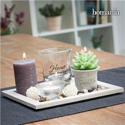 Centrotavola Candles & Garden Homania