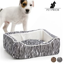 Pet Prior Dog Bed (45 x 35 cm) Leopard
