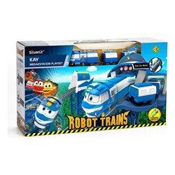 Circuito Megaestación Robot Trains Bizak 116021