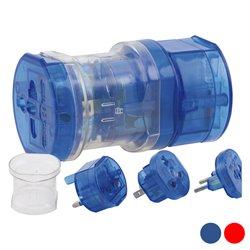 Adaptador para Enchufes 143086 Azul