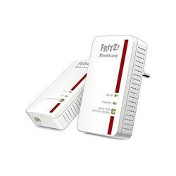 Powerline Fritz! 1240E 300 Mbps WIFI Bianco