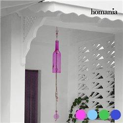 Crystal Bottle Homania Windspiel Rosa