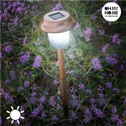 Oh My Home Copper Garden Solar Light