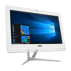 MSI Pro 20EX 7M-005EU 49.5 cm (19.5) 1600 x 900 pixels 7th gen Intel® Core™ i3 i3-7100 4 GB DDR4-SDRAM 1000 GB HDD White All...