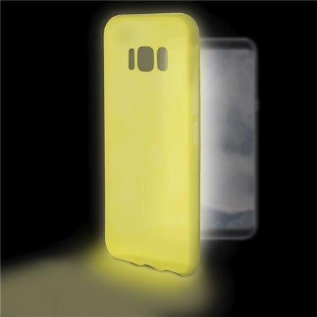 Custodia per Cellulare Samsung Galaxy S8 Flex Sense Luminescente Giallo