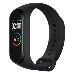 "Orologi Sportivi Xiaomi Mi Smart Band 4 0,95"" AMOLED Bluetooth 5.0 Nero"