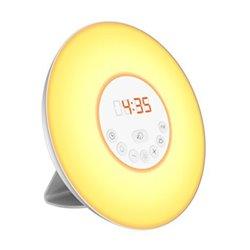 Radio Sveglia Denver Electronics CRL-330 LED Bianco