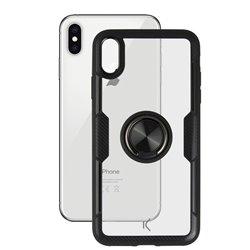 Cover con Anello Iphone Trasparente